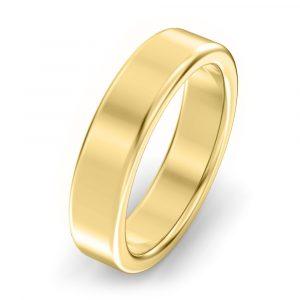 5mm Modern Court Wedding Ring