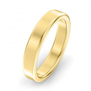 3mm Modern Court Wedding Ring
