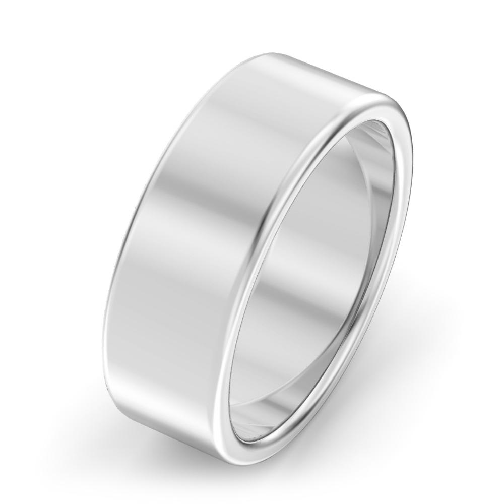 7mm Modern court Wedding Ring