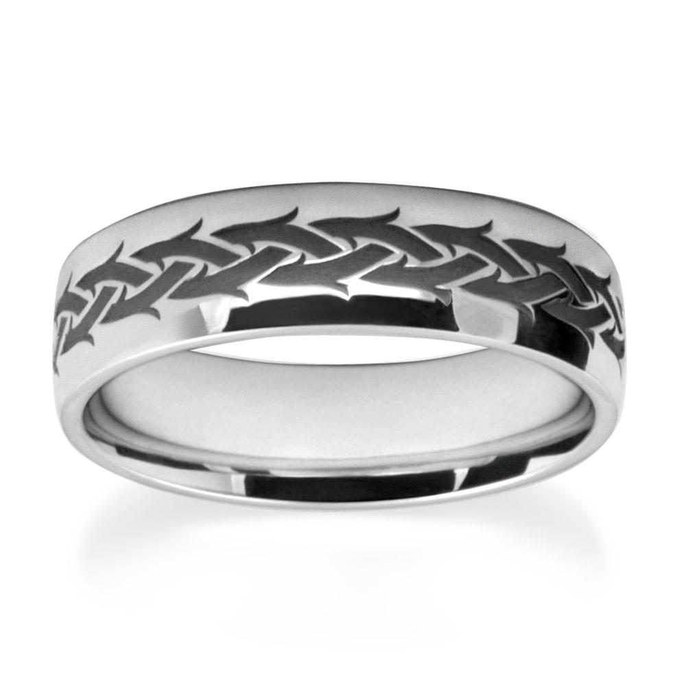 Crown Of Thorn Wedding Ring Wedding Rings W7512-WG-A