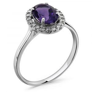 amethyst-diamond-ring