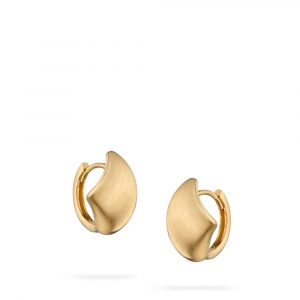 Concave Hoop Earrings