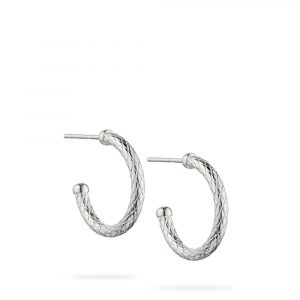 Small Semi Hoop Earrings